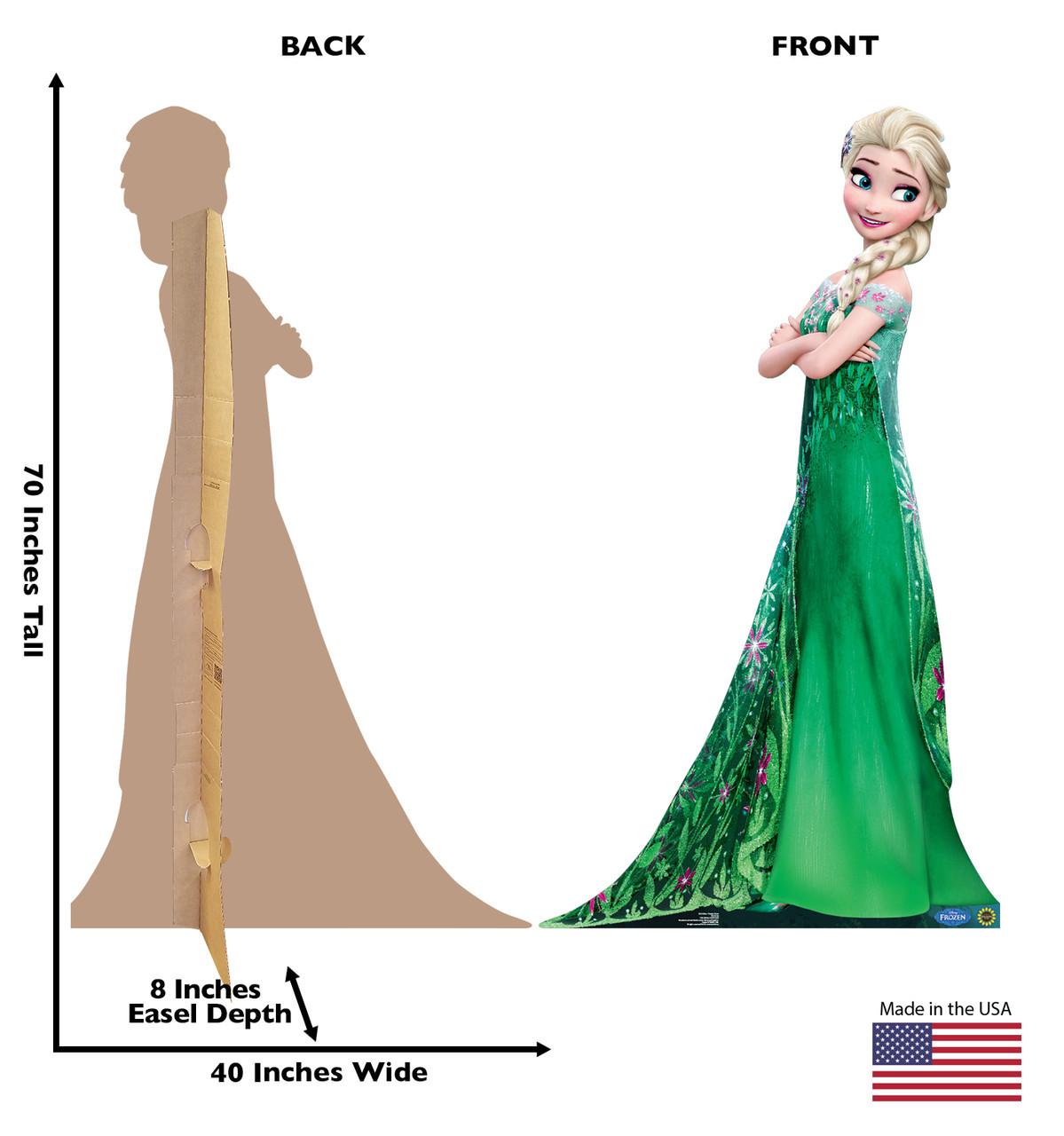 Elsa - Frozen Fever-Cardboard Cutout 2010