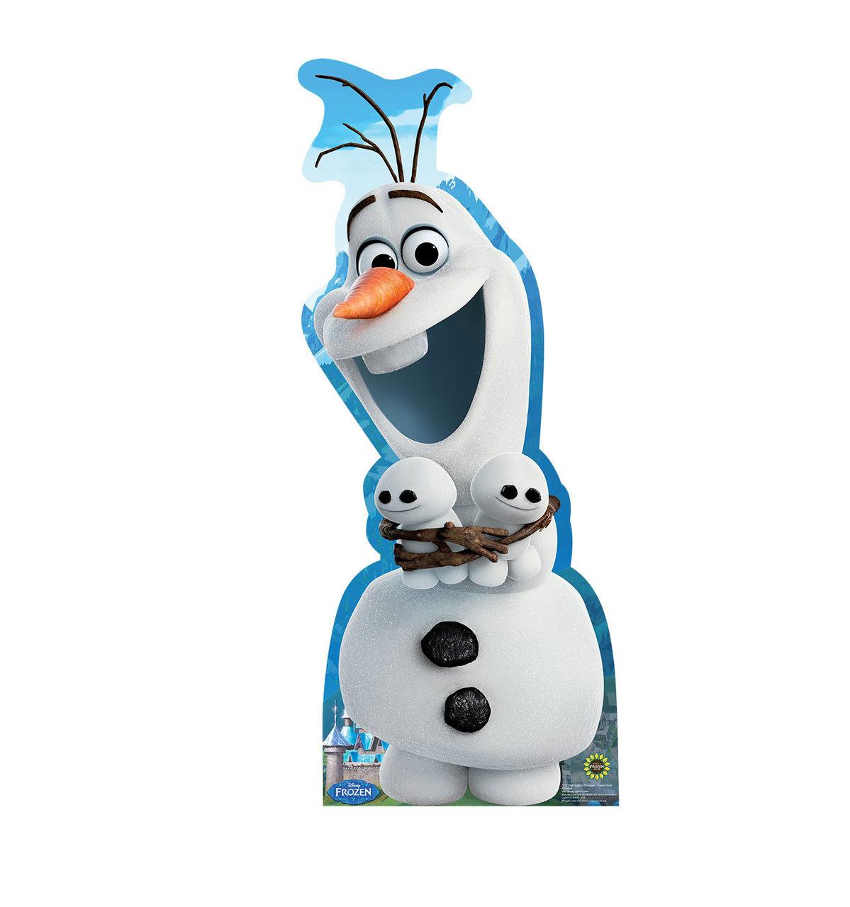 Olaf Hugging Snowgies - Frozen Fever-Cardboard Cutout 2012