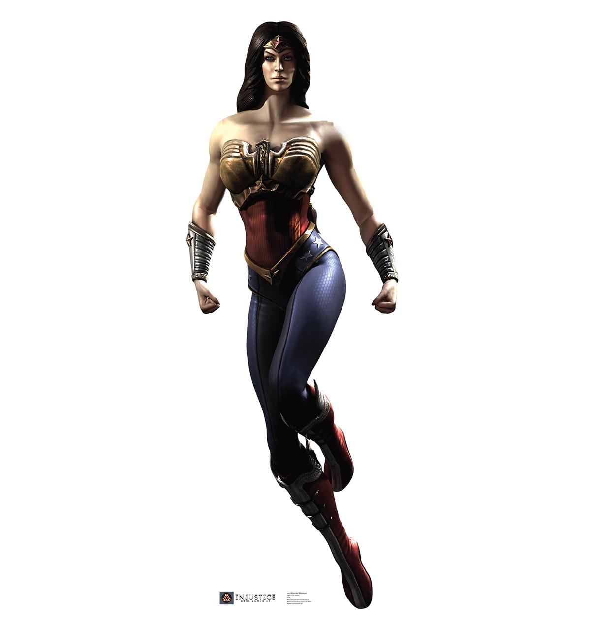 Life-size Wonder Woman - Injustice Gods Among Us Cardboard Standup