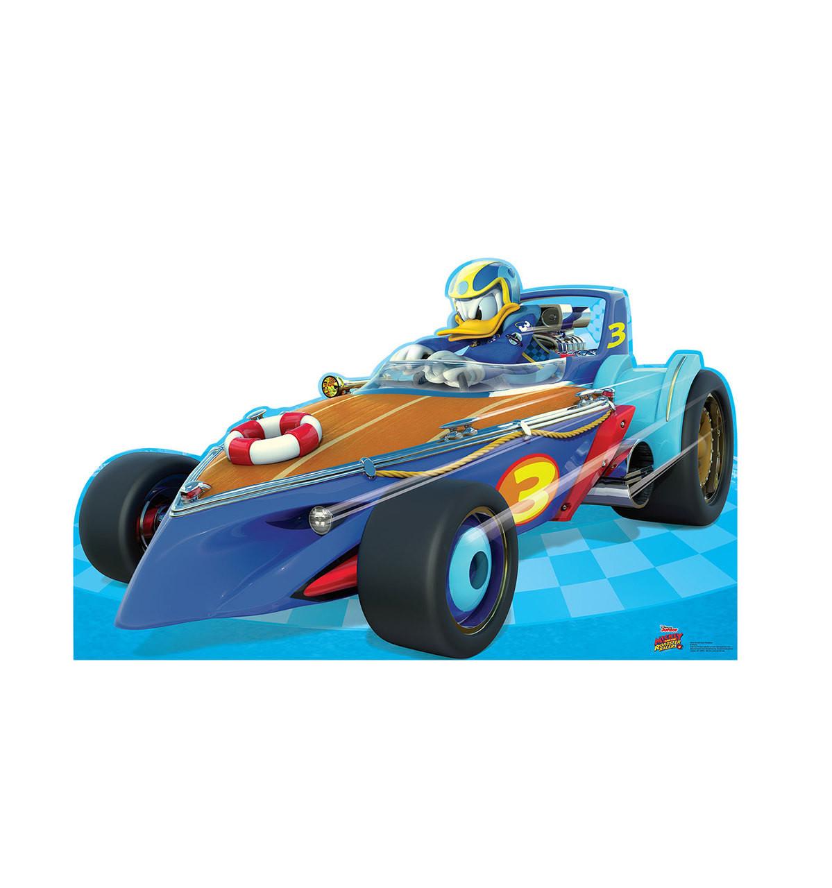 Life-size Donald Duck Roadster (Disney's Roadster Racers) Cardboard Standup 3