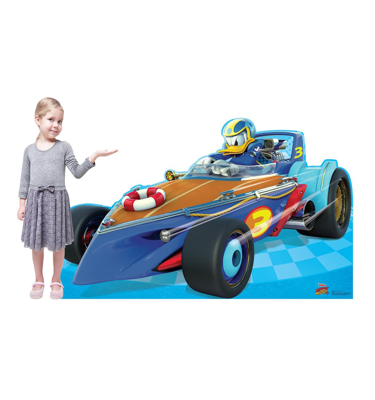 Life-size Donald Duck Roadster (Disney's Roadster Racers) Cardboard Standup 2