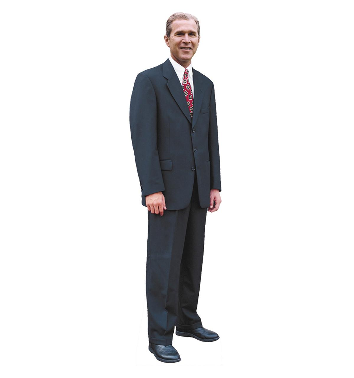 Life-size Pres. George W Bush Cardboard Standup | Cardboard Cutout