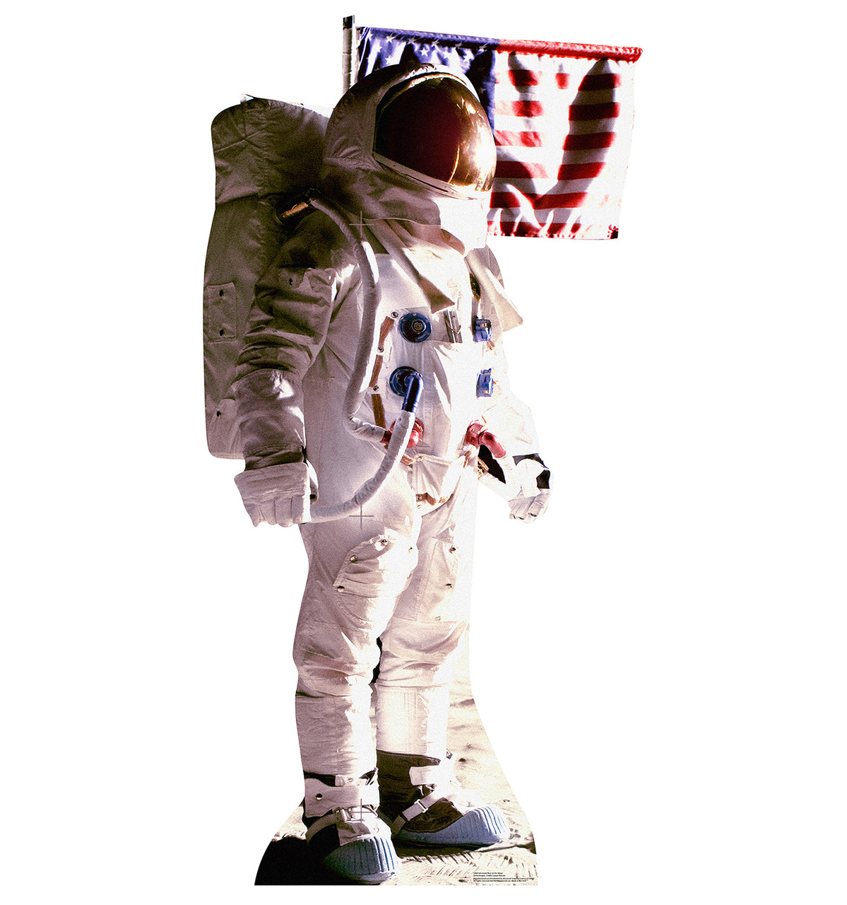 Life-size Astronaut Man on the Moon Cardboard Standup