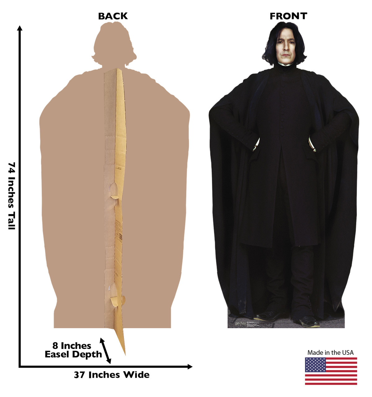 Life-size Professor Snape from Harry Potter Cardboard Standup