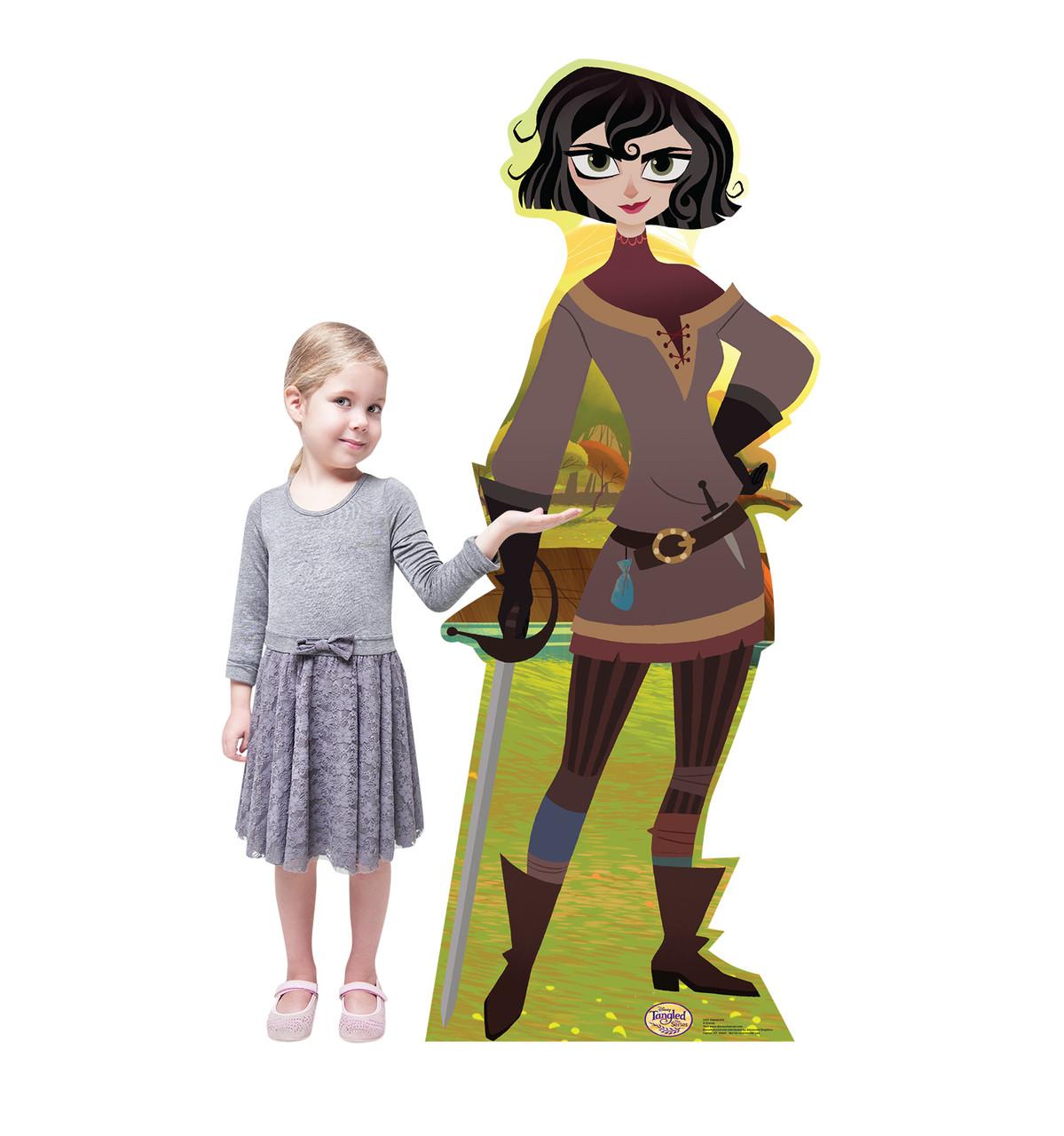 Life-size Cassandra (Tangled The Series) Cardboard Standup 2