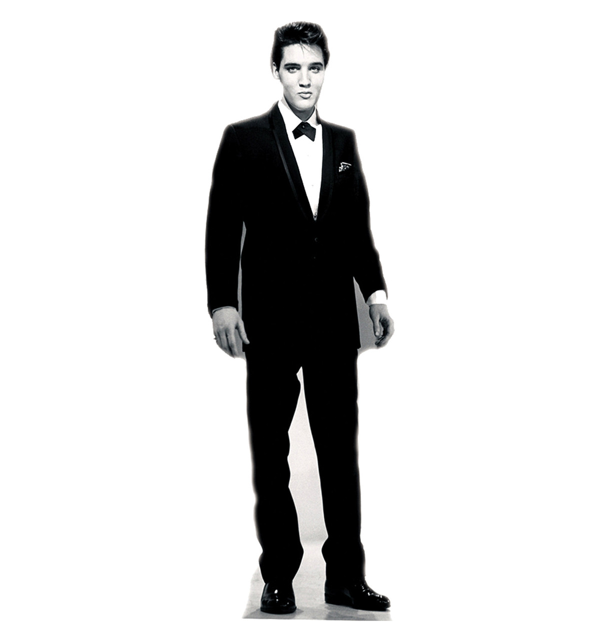 Elvis Presley Black Tuxedo-Cardboard Cutout 377