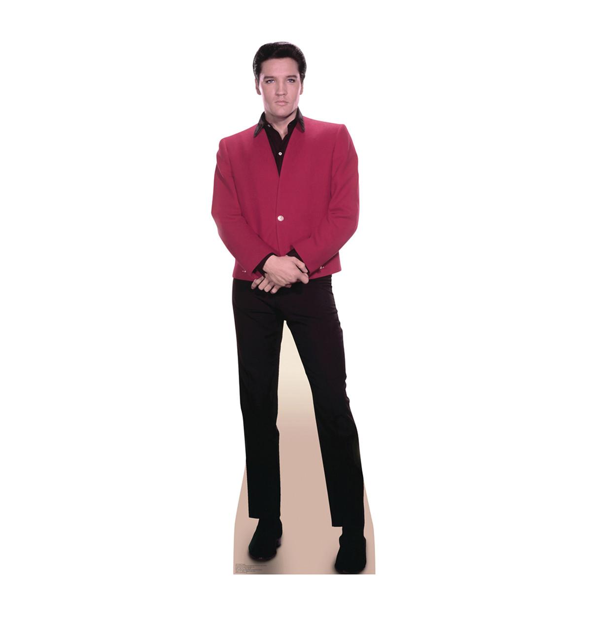Elvis Red Jacket-Cardboard Cutout 1351