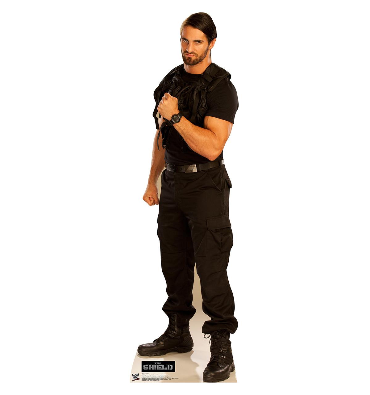 Life-size Seth Rollins - WWE Cardboard Standup