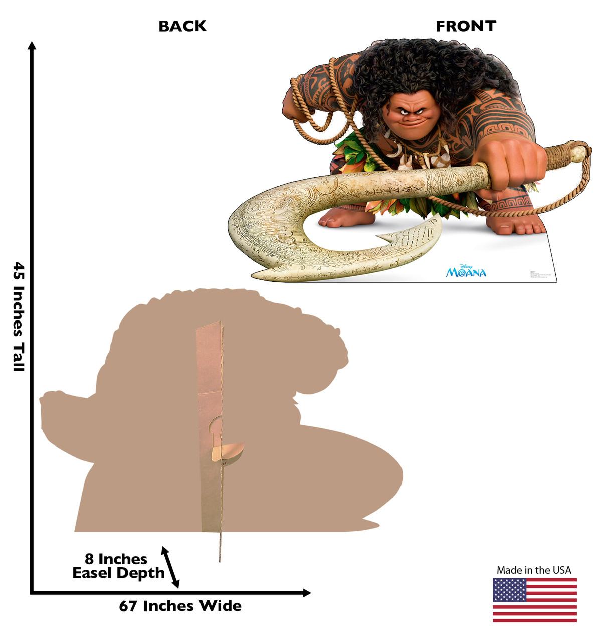 Maui - Moana-Cardboard Cutout 2441