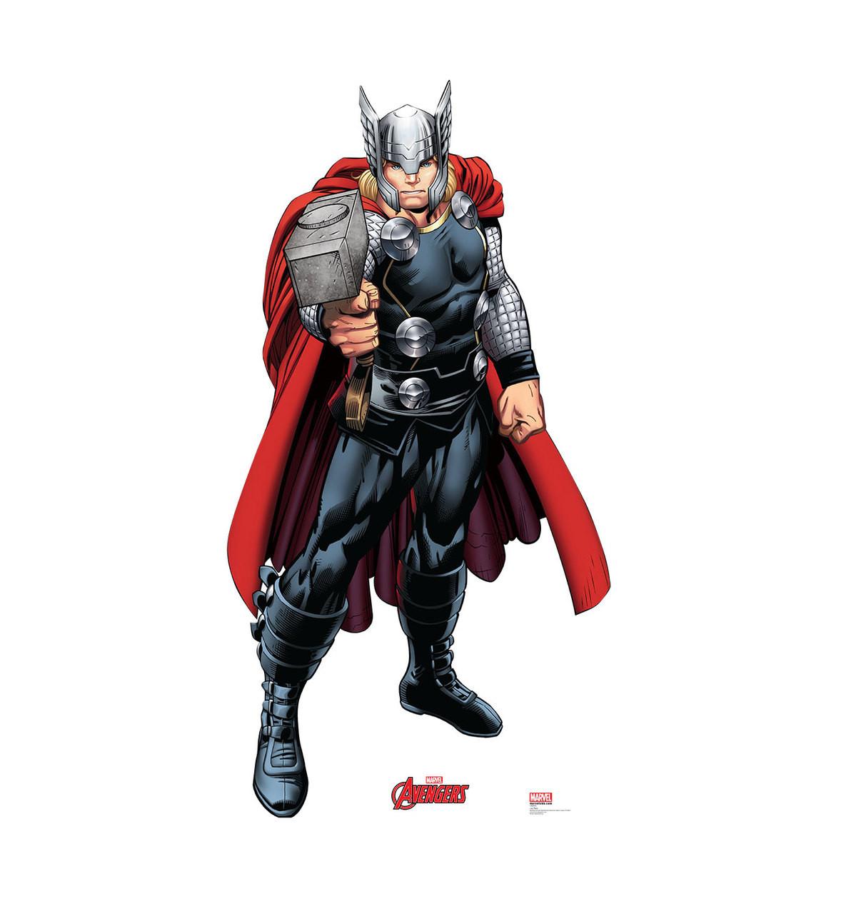 Life-size Thor Cardboard Standup 2