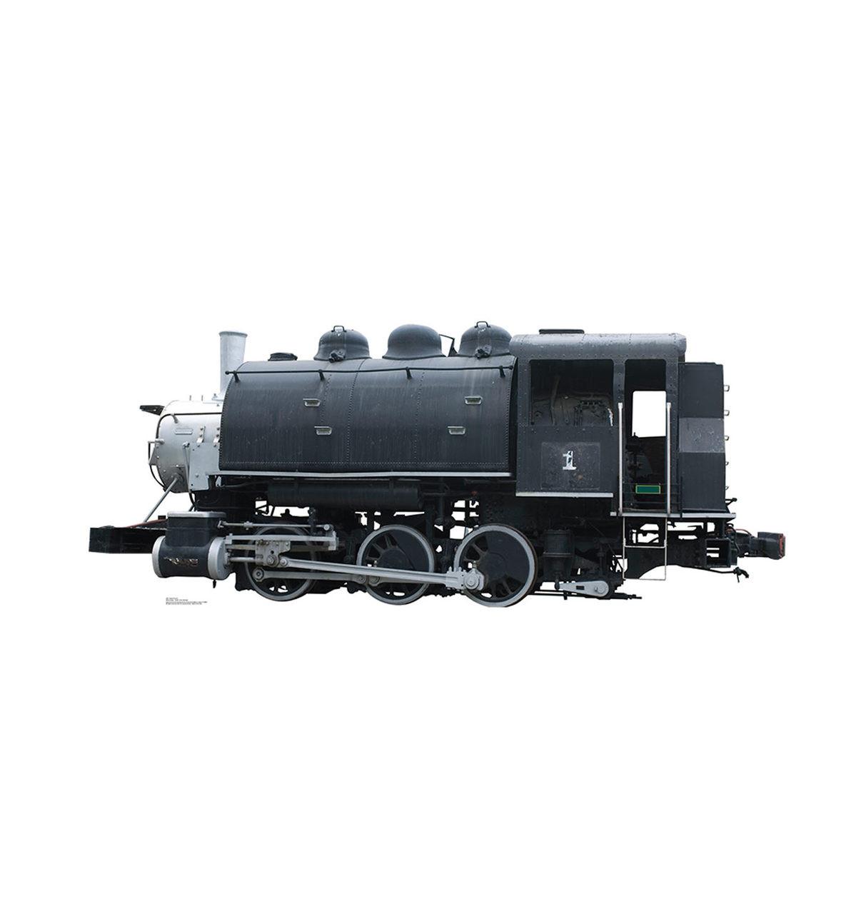 Steam Train #1 Cardboard Cutout 2001