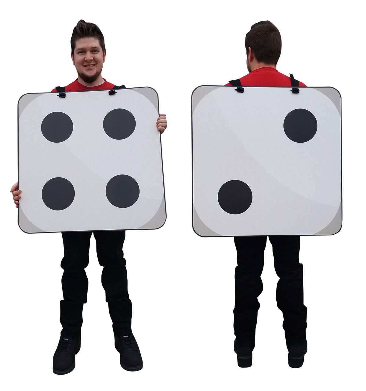 Happy/Sad Emoji Costume 2445