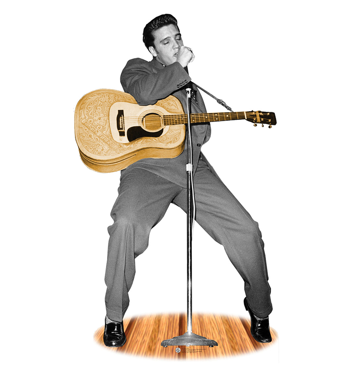 Advanced Graphics 846 Elvis Surfing Life-size Cardboard Stand-up