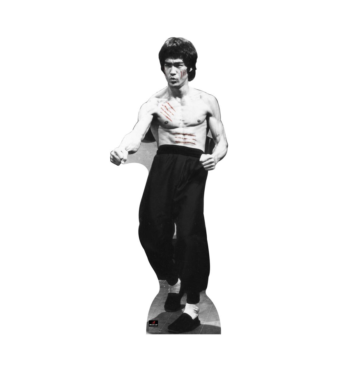 Bruce Lee Cut Cardboard Cutout 1042