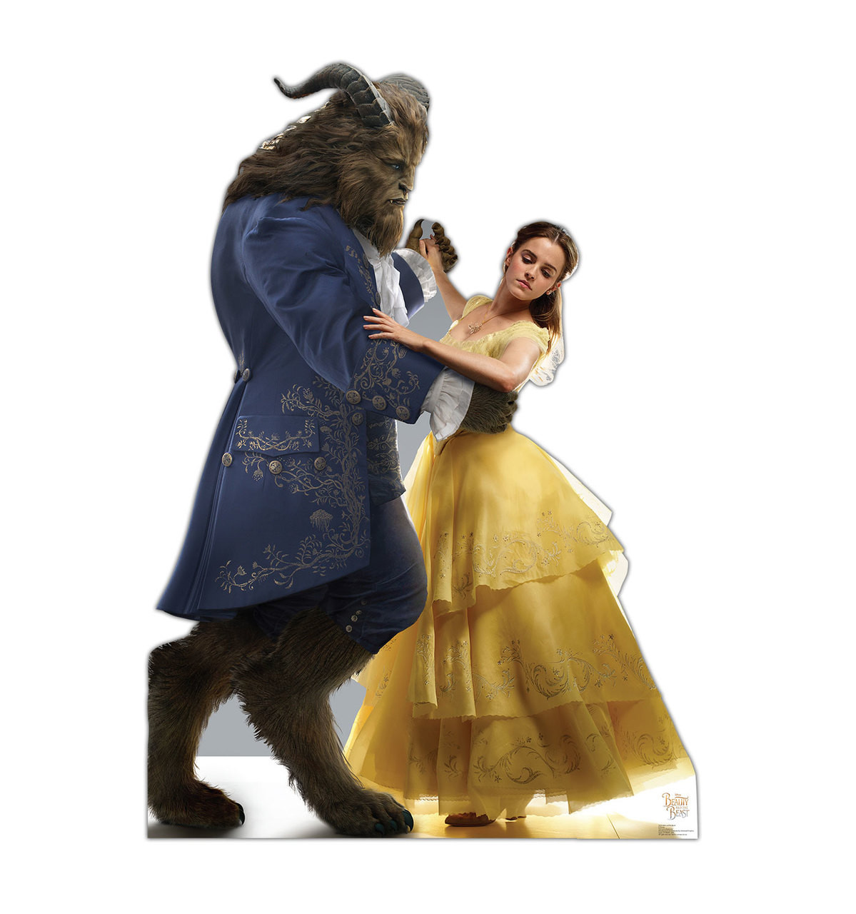 Life-size Belle and the Beast (Disney's Beauty and the Beast) Cardboard Standup 3