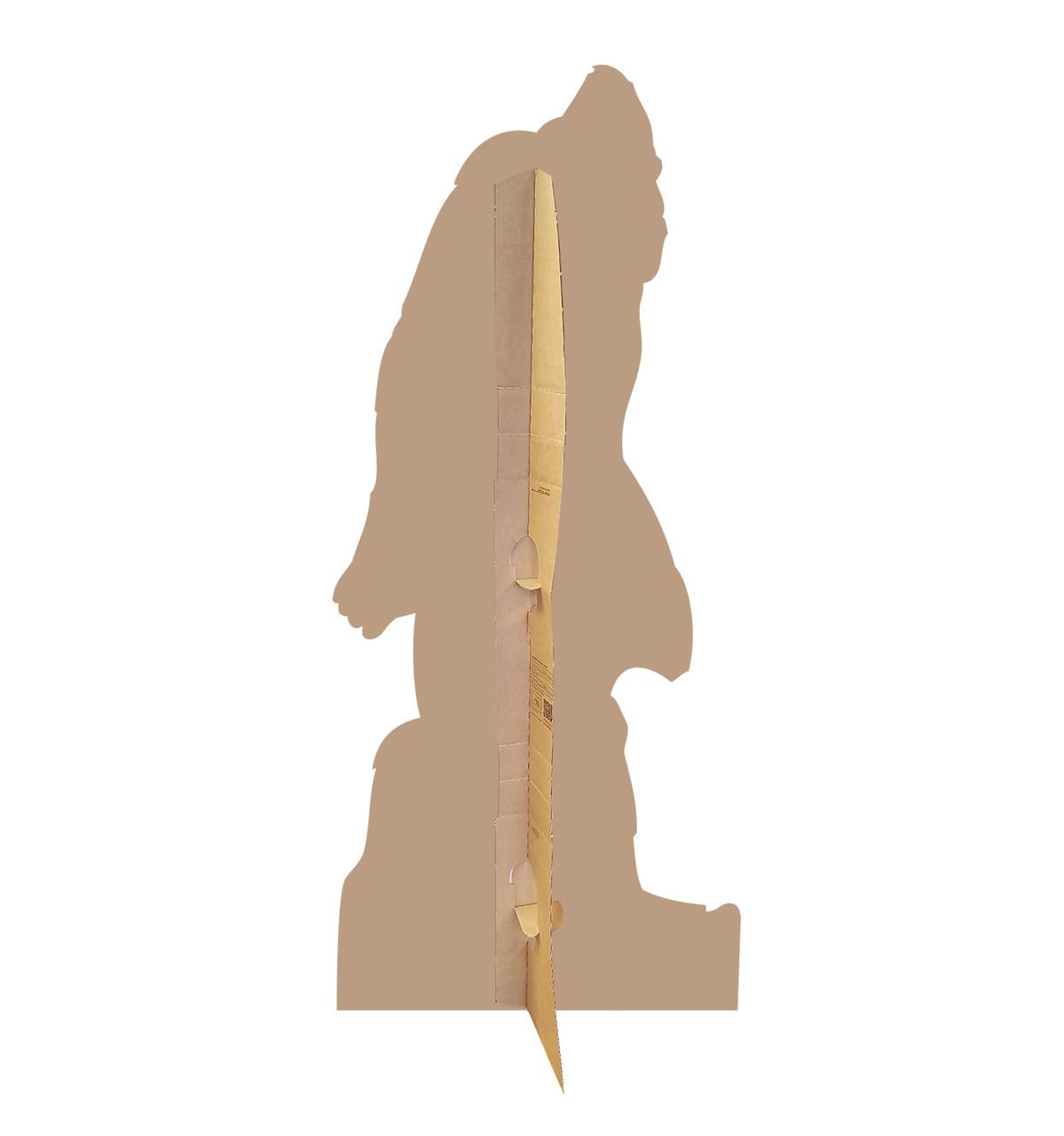 Life-size Bigfoot Cardboard Standup