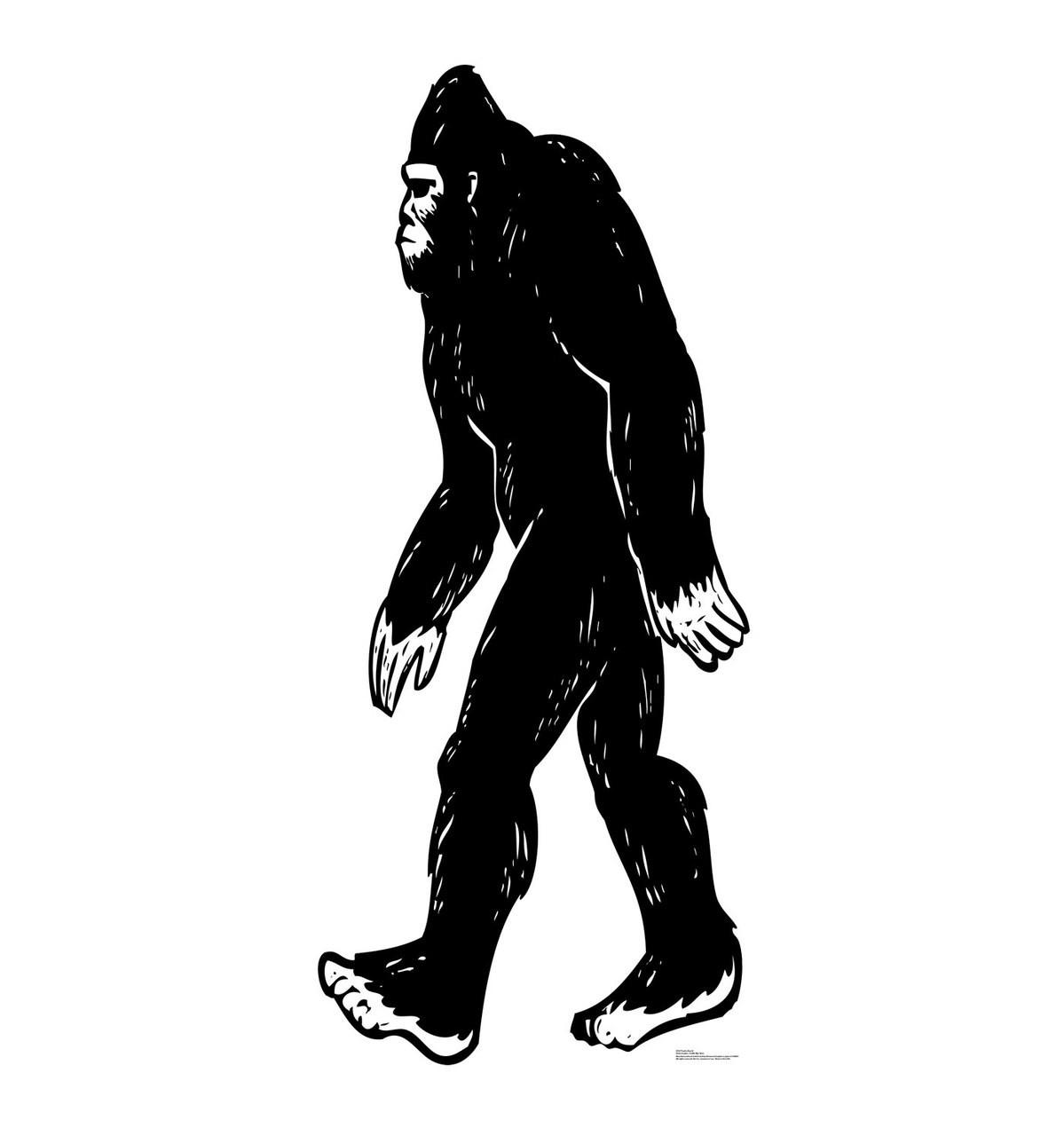 Bigfoot-Cardboard Cutout 2522
