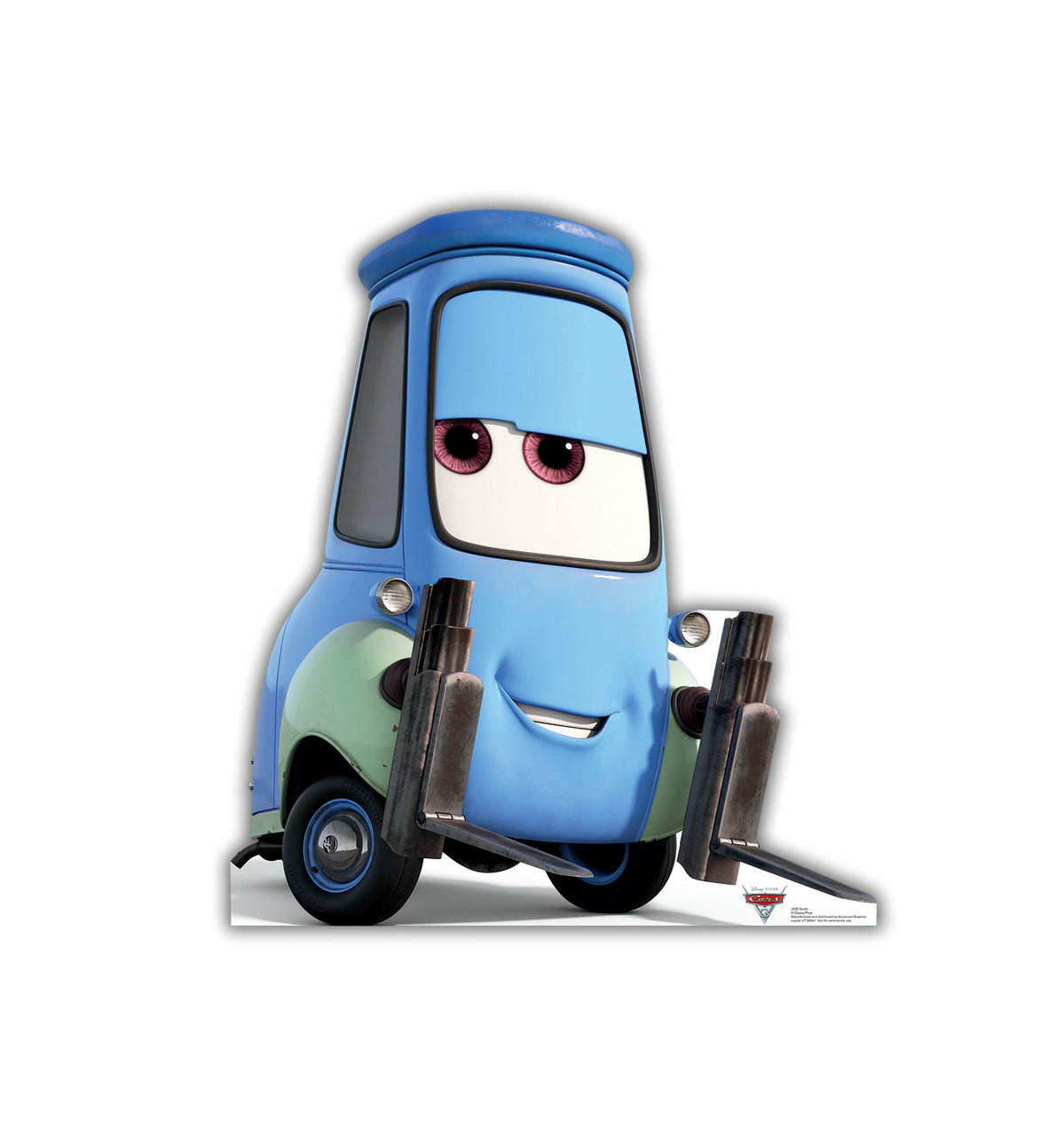 Life-size Guido (Cars 3) Cardboard Standup