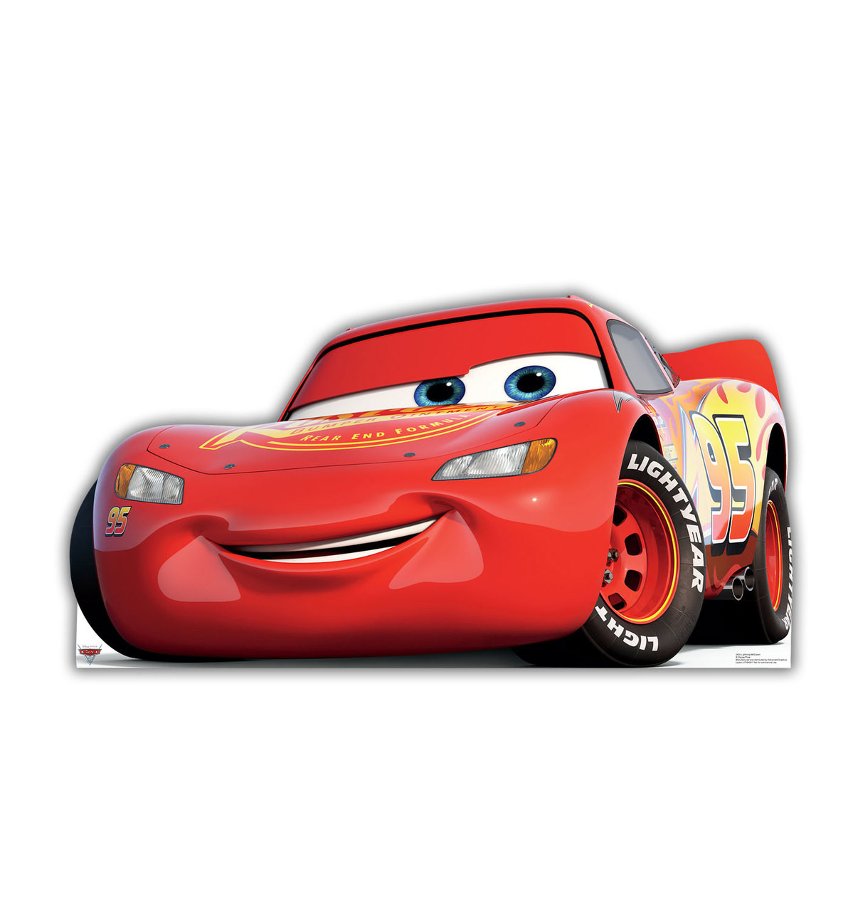 Lightning McQueen (Cars 3) Front View