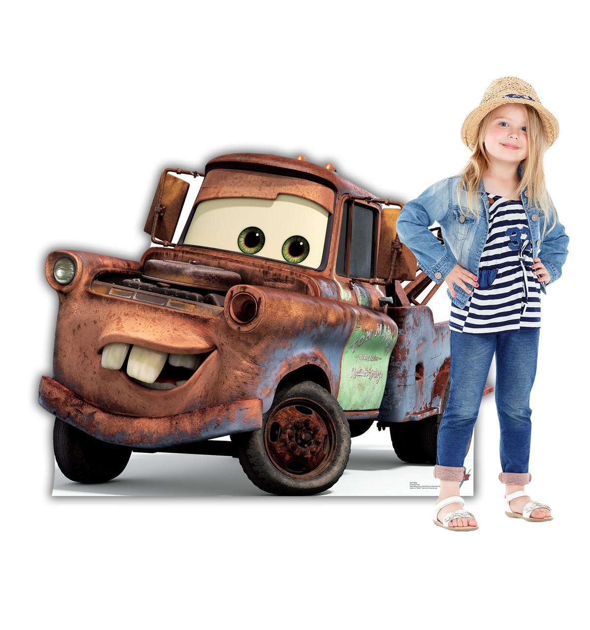 Life-size Mater (Cars 3) Cardboard Standup 2