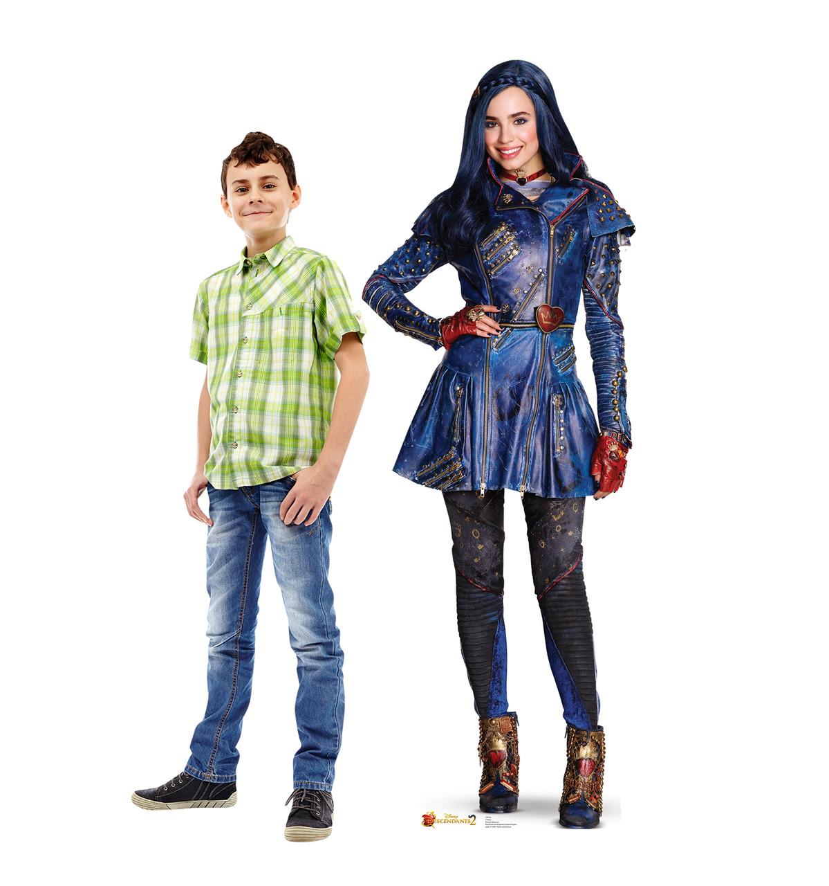 Life-size Evie (Descendants 2) Cardboard Standup 3
