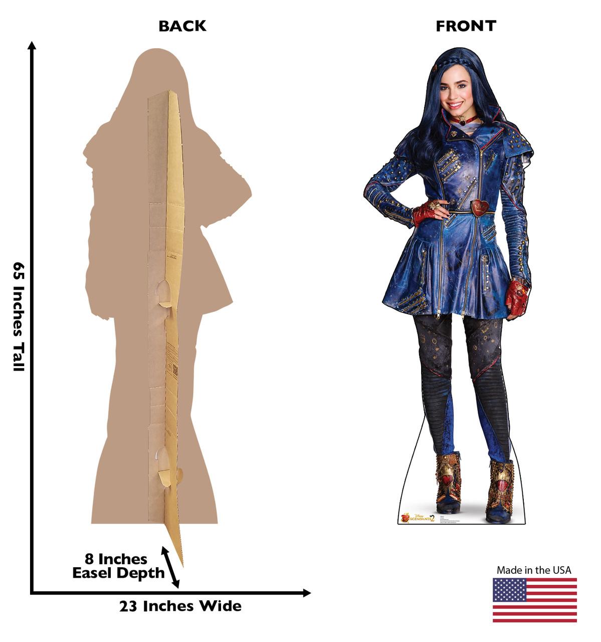 Evie - Descendants 2 Cardboard Cutout 2508