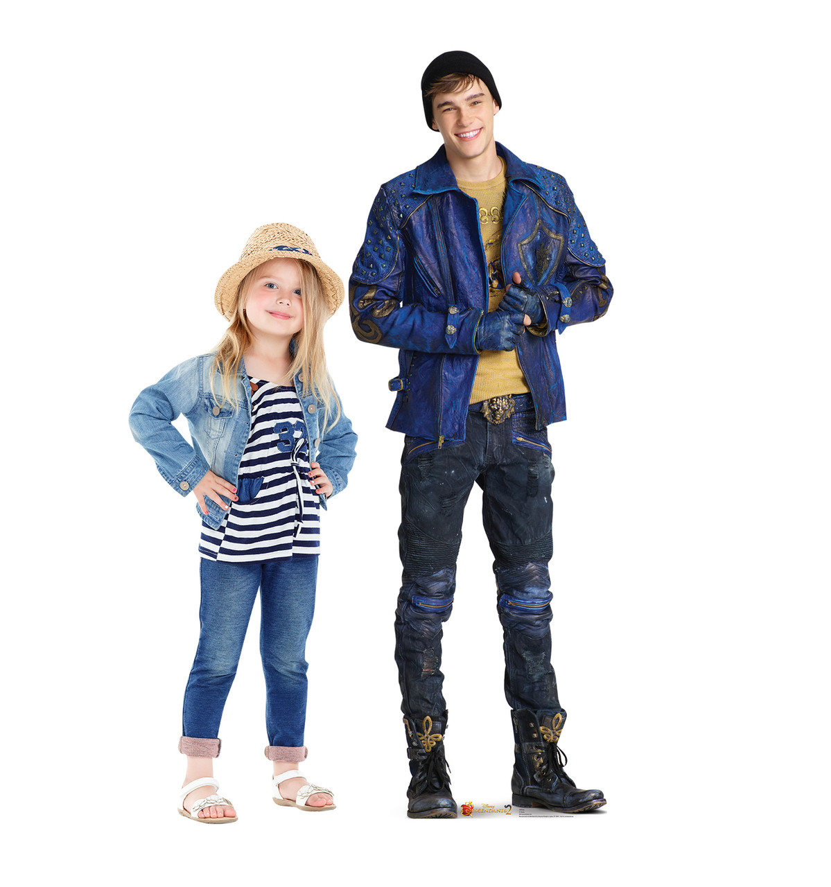 Life-size Ben (Descendants 2) Cardboard Standup 3 with model