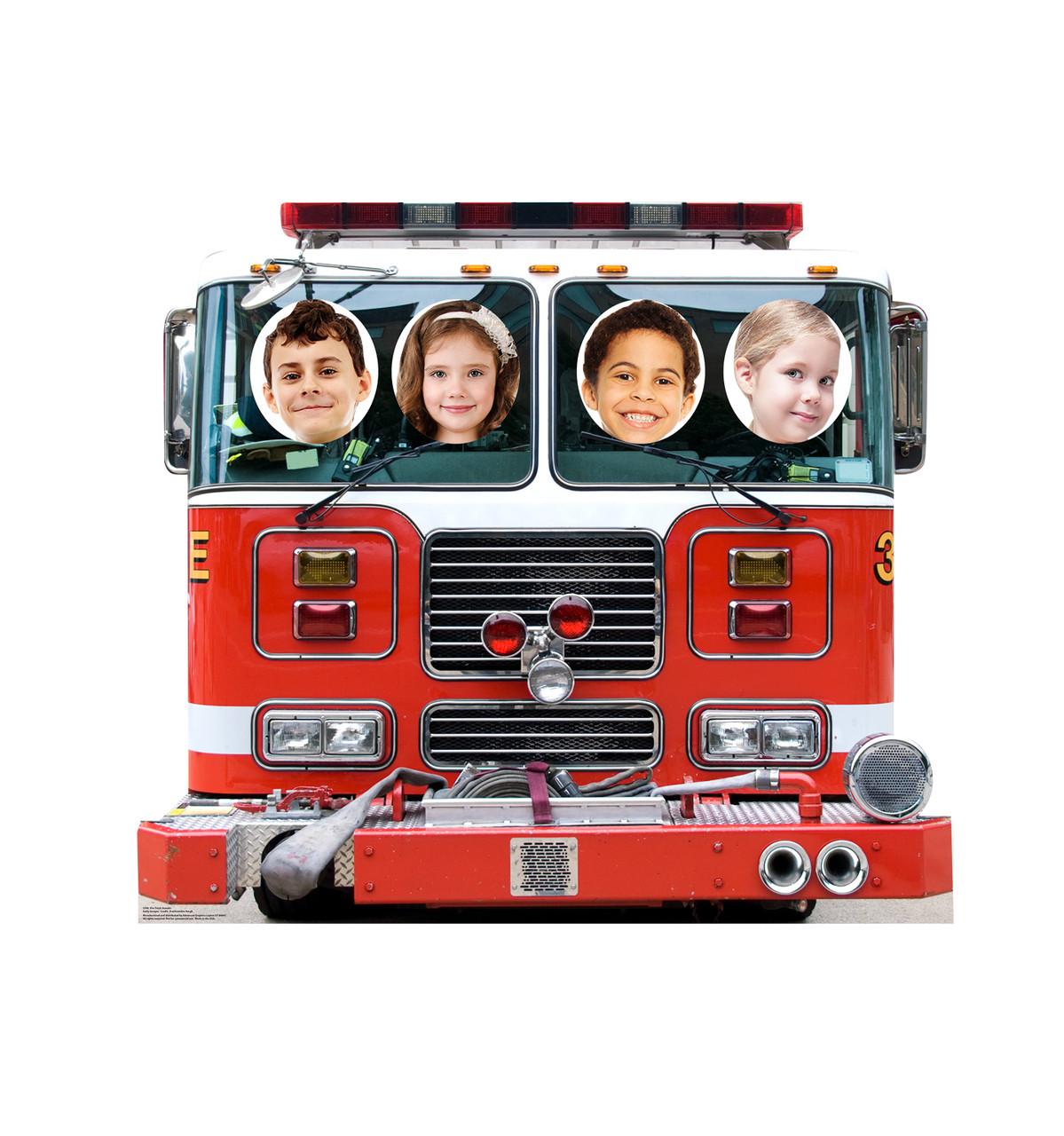 Life-size Fire Truck Standin Cardboard Standup 3