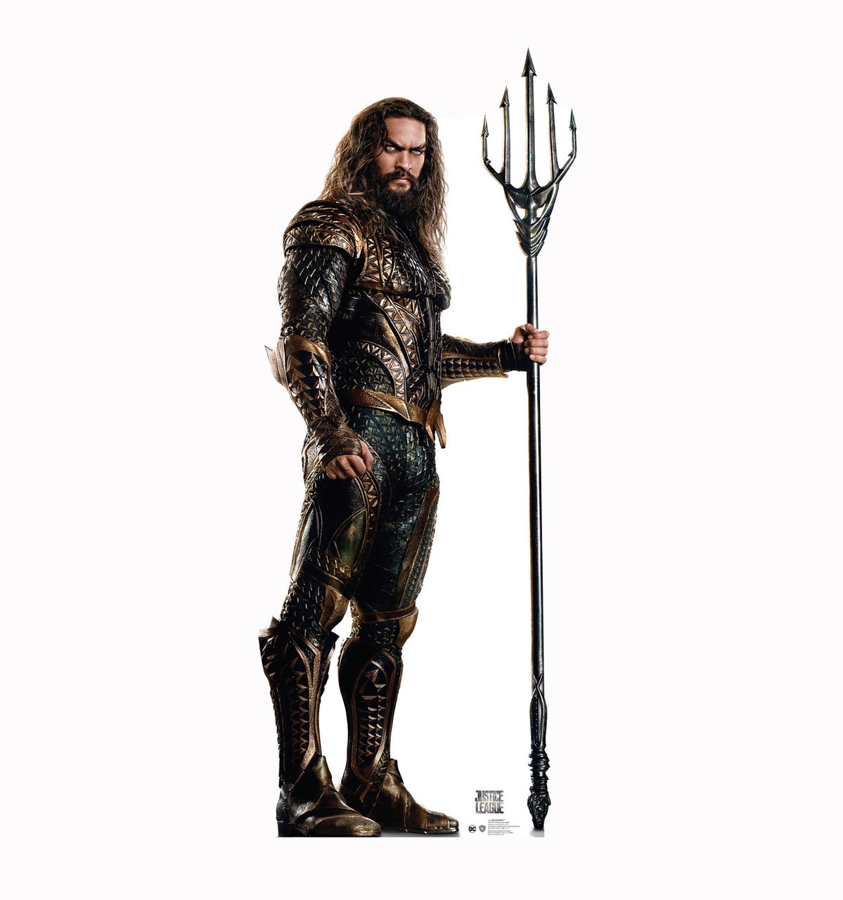 LIFE SIZE STANDUP//CUTOUT BRAND NEW AQUAMAN JUSTICE LEAGUE MOVIE 2831