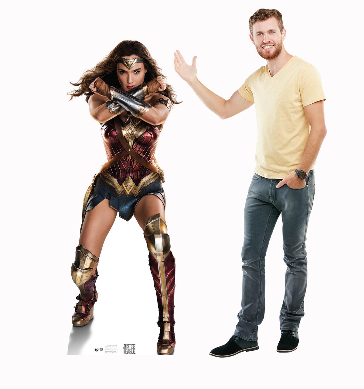 Wonder Woman (Justice League) Cardboard Cutout-lifesize