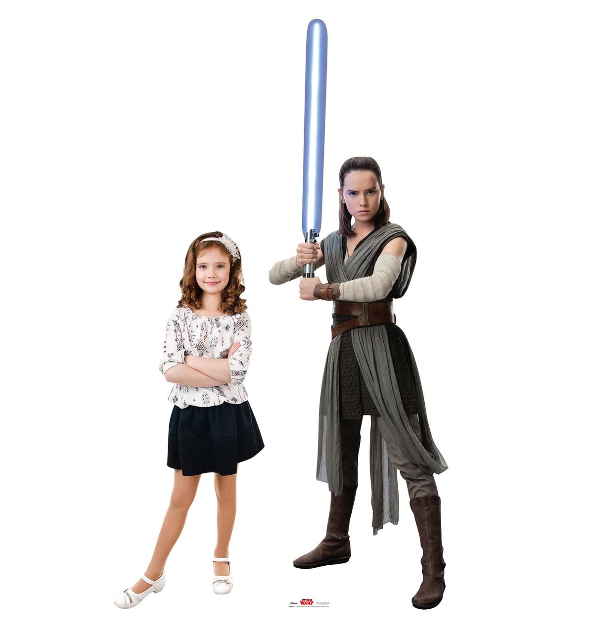Rey - Star Wars: The Last Jedi Life-Size Cardboard Cutout 3