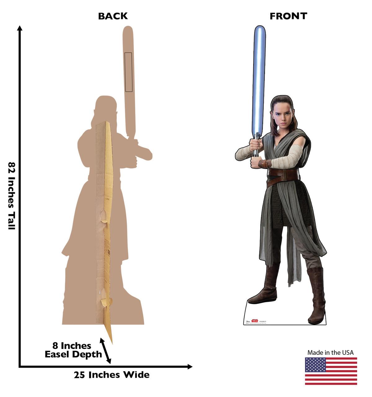 Rey -Star Wars VIII The Last Jedi Cardboard Cutout 2529