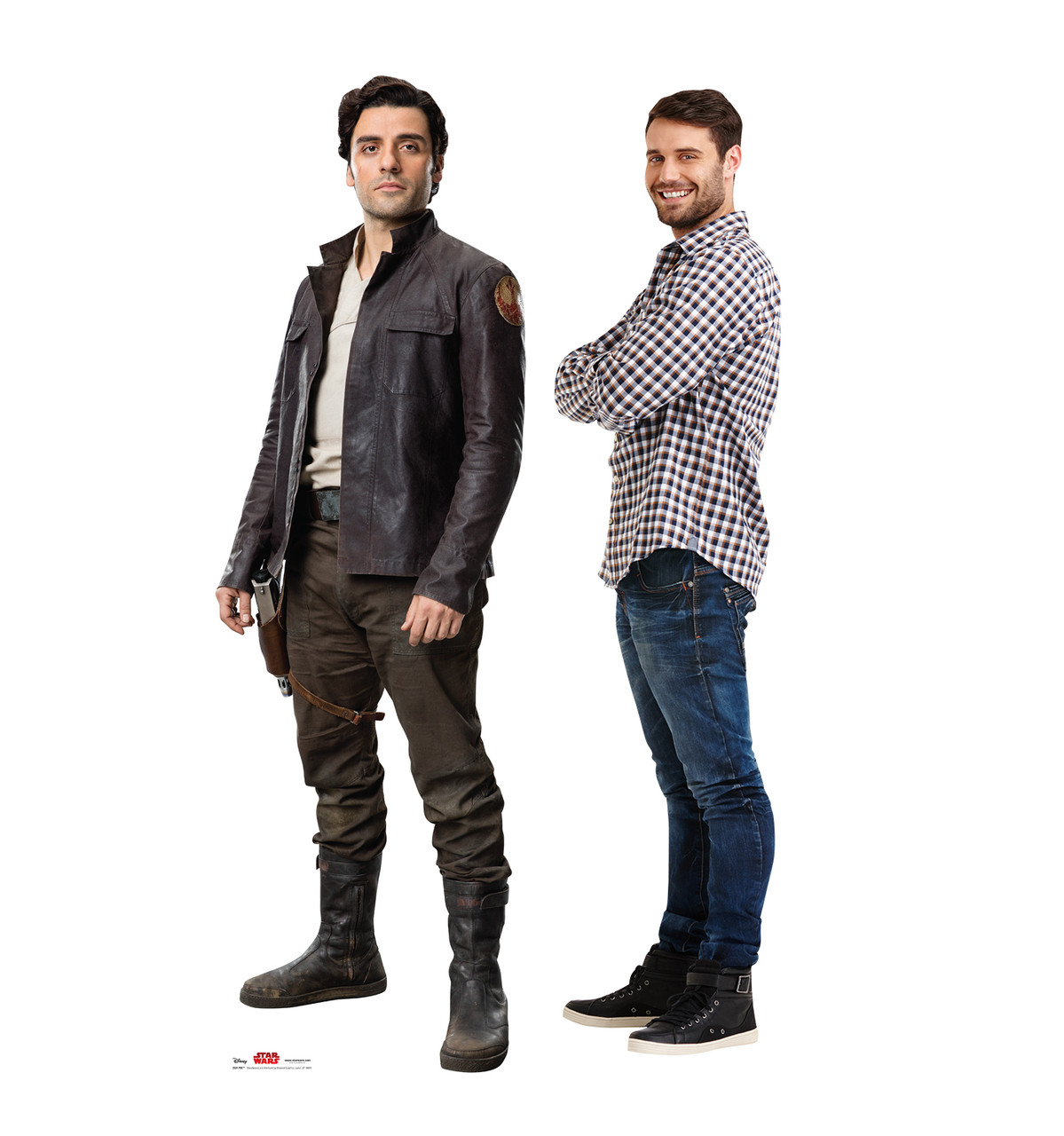 Poe - Star Wars: The Last Jedi Life-Size Cardboard Cutout 3