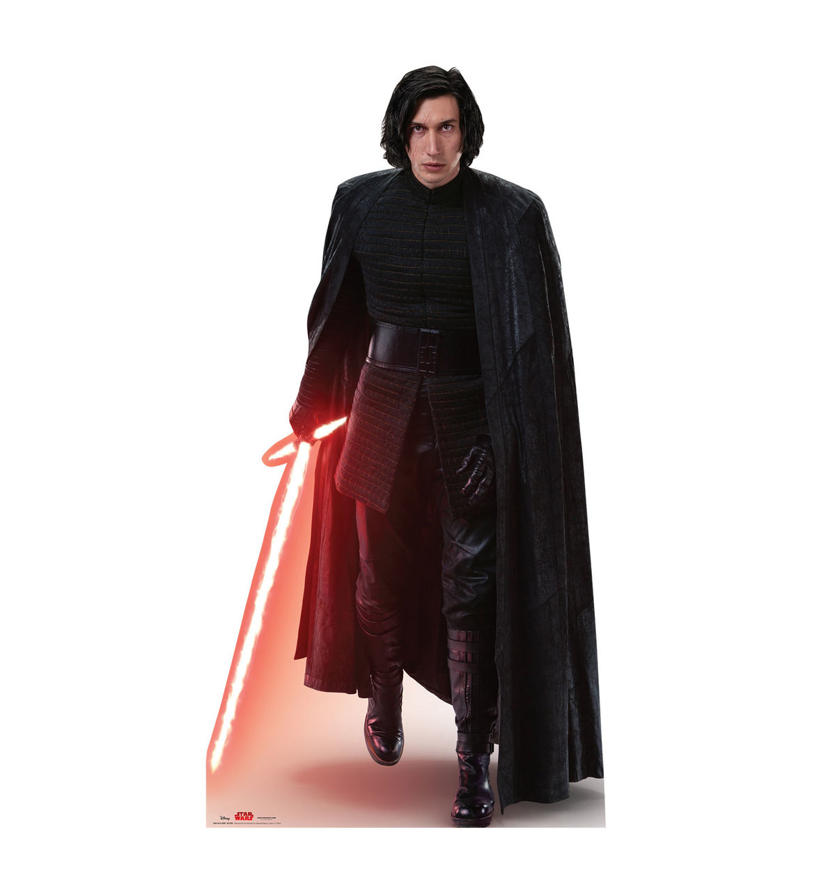 Kylo Ren™ Action - Star Wars: The Last Jedi Life-Size Cardboard Cutout 1