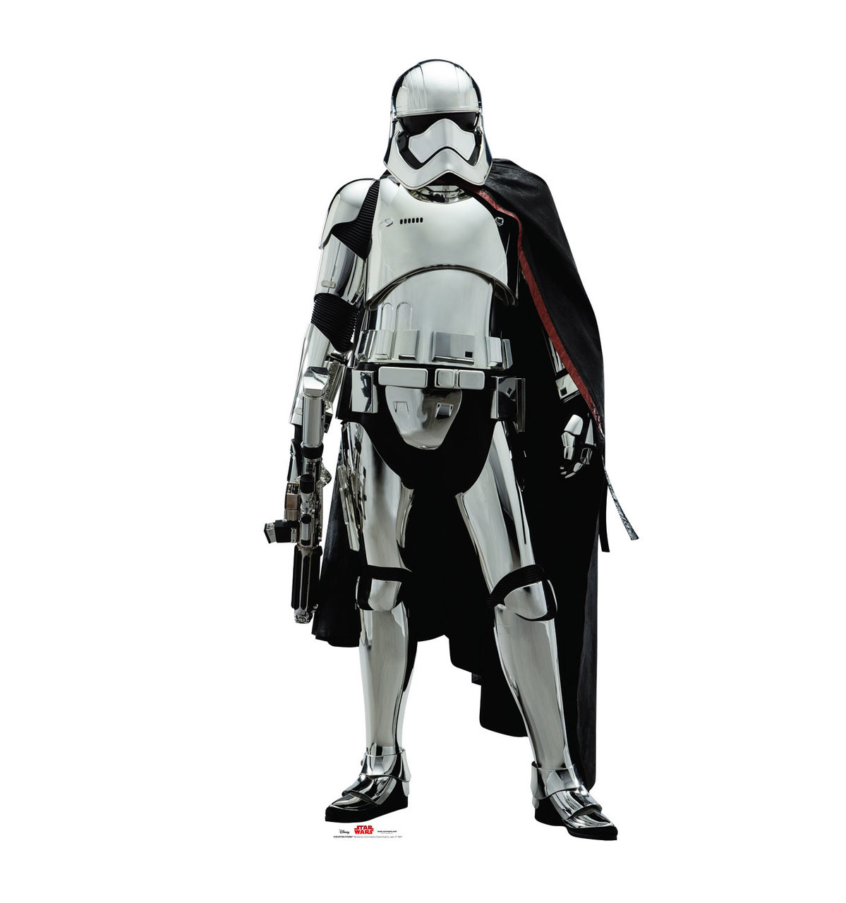 Captain Phasma - Star Wars: The Last Jedi Cardboard Cutout 1