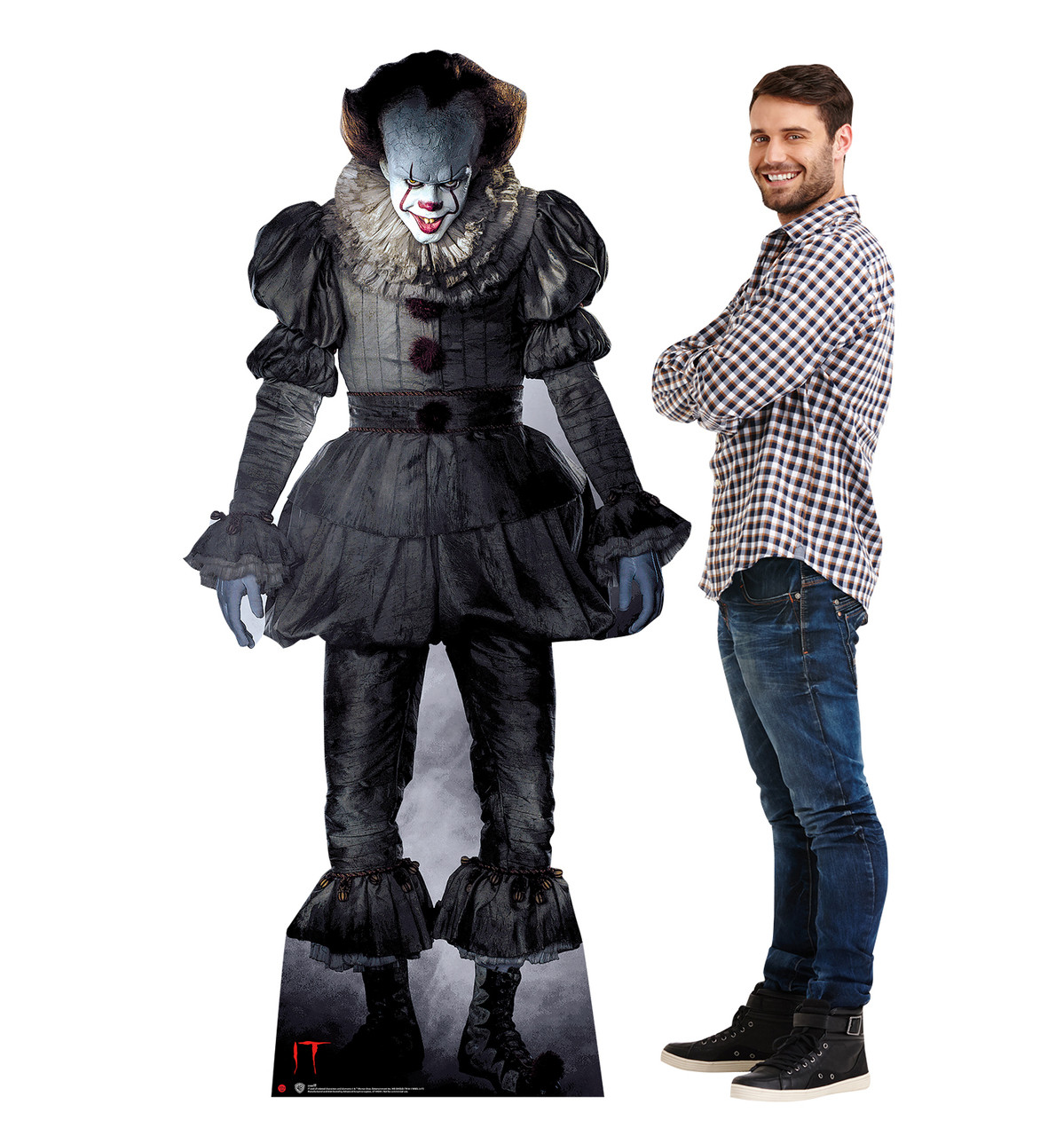 Pennywise from IT Movie 2017 Cardboard Cutout-lifesize