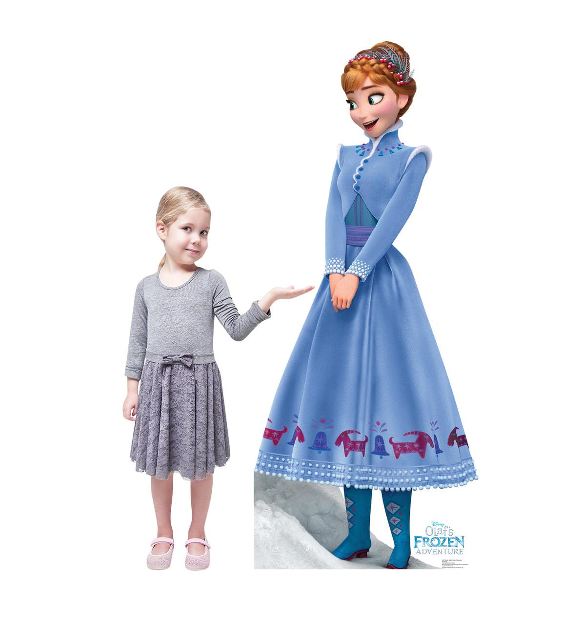 Anna (Olafs Frozen Adventure) | Cardboard Cutout 3