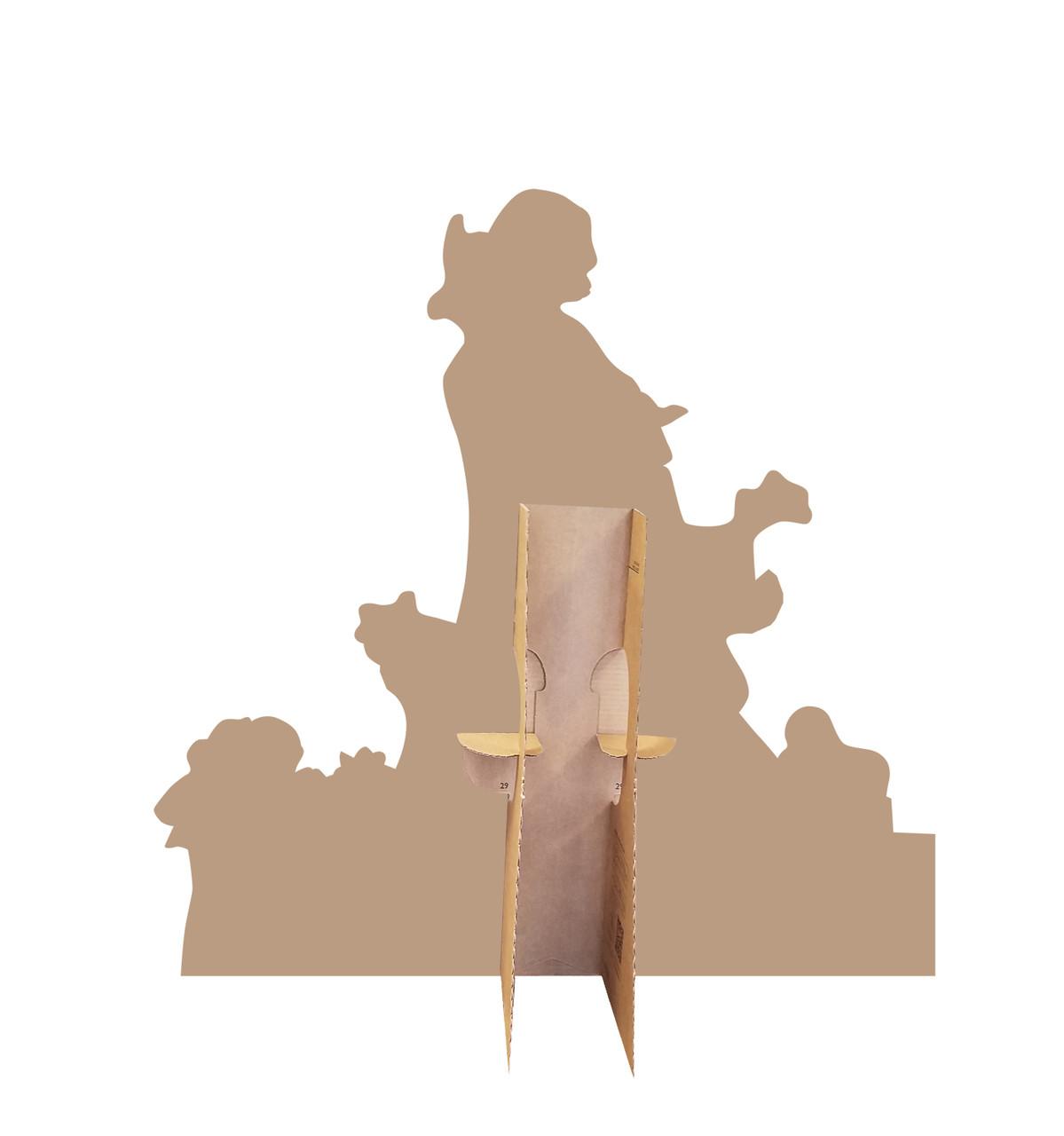 Olaf Knitted Tree (Olafs Frozen Adventure)   Cardboard Cutout 2