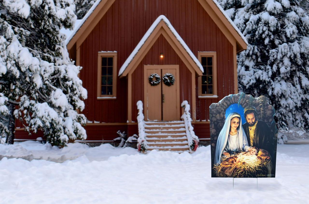 Nativity Outdoor Christmas Decorations.Christmas Nativity Outdoor