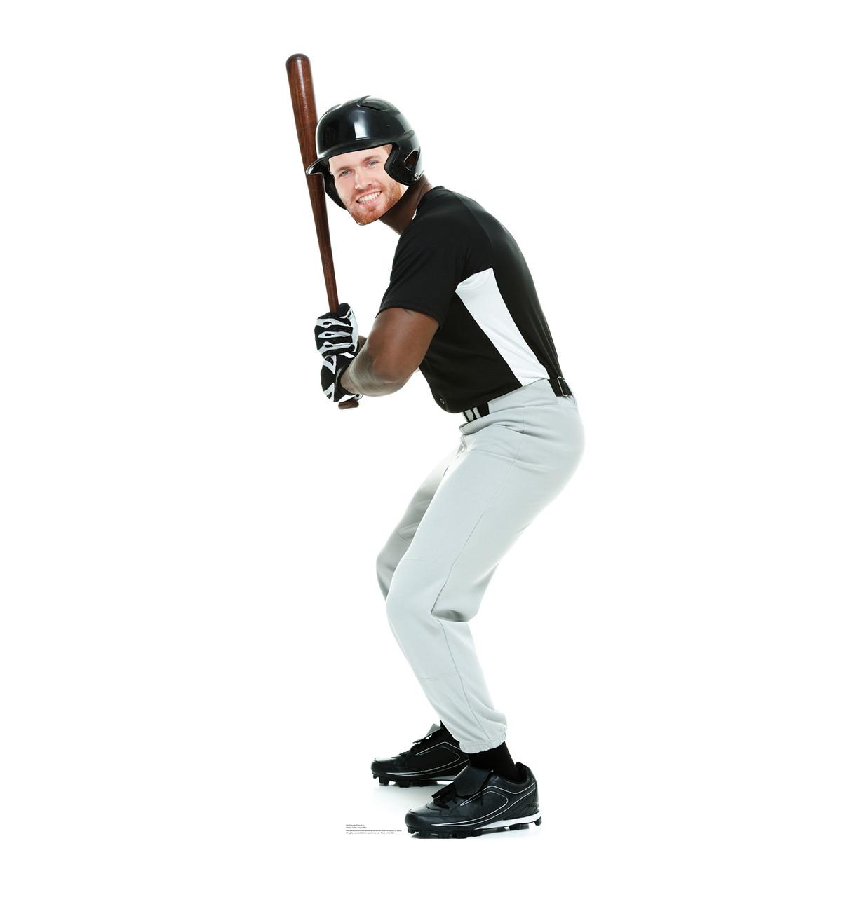 Life-size Baseball player Stand-In Cardboard Standup | Cardboard Cutout 3