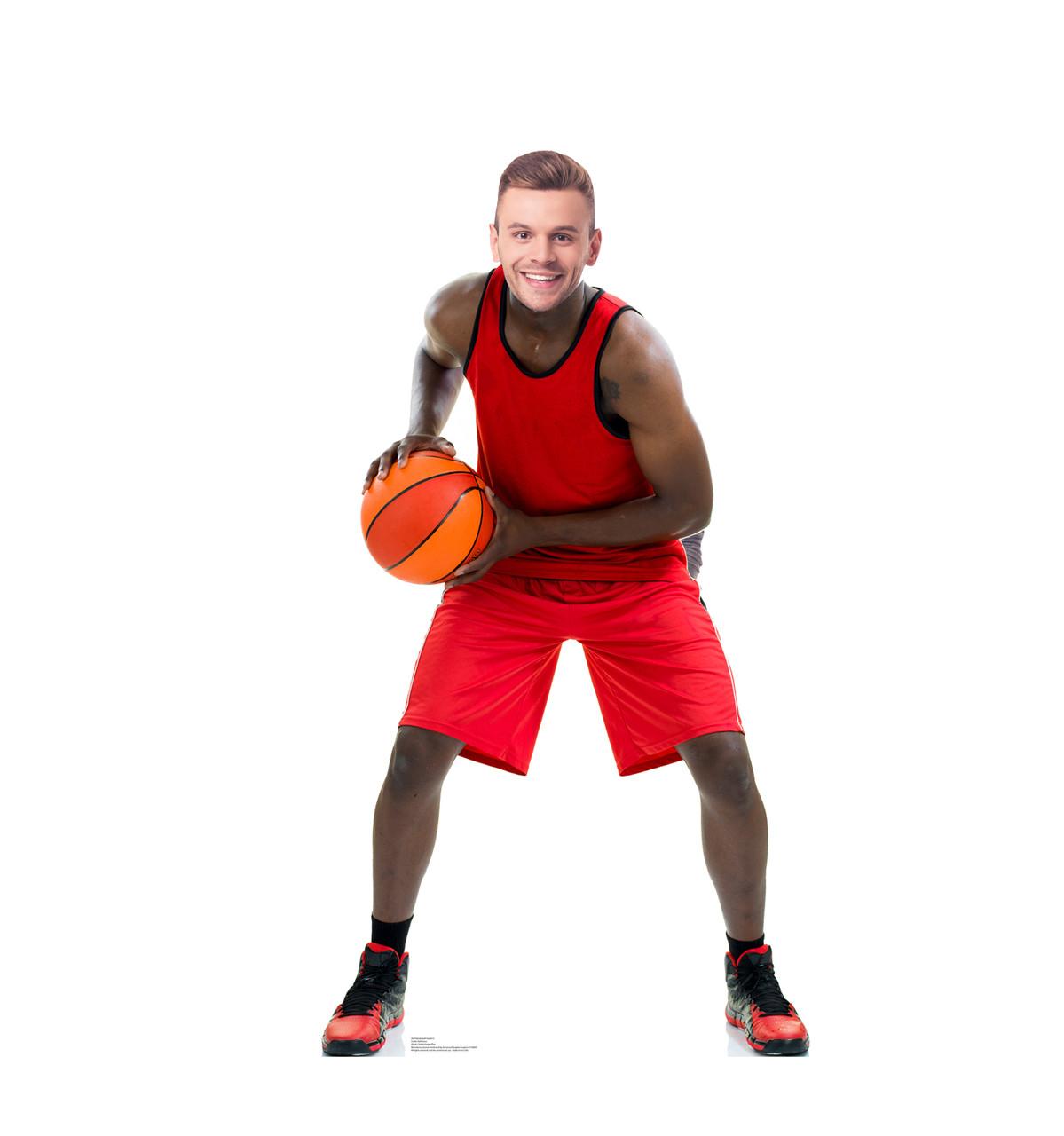Life-size Basketball Player Stand-In Cardboard Standup | Cardboard Cutout 3