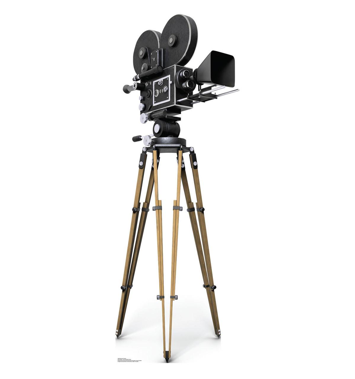 Life-size Hollywood Camera Cardboard Standup | Cardboard Cutout 1