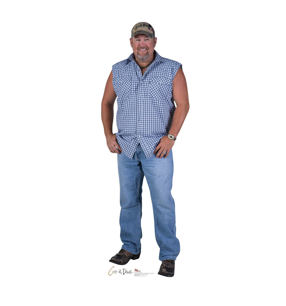 Larry The Cable Guy Cardboard Cutout 2651