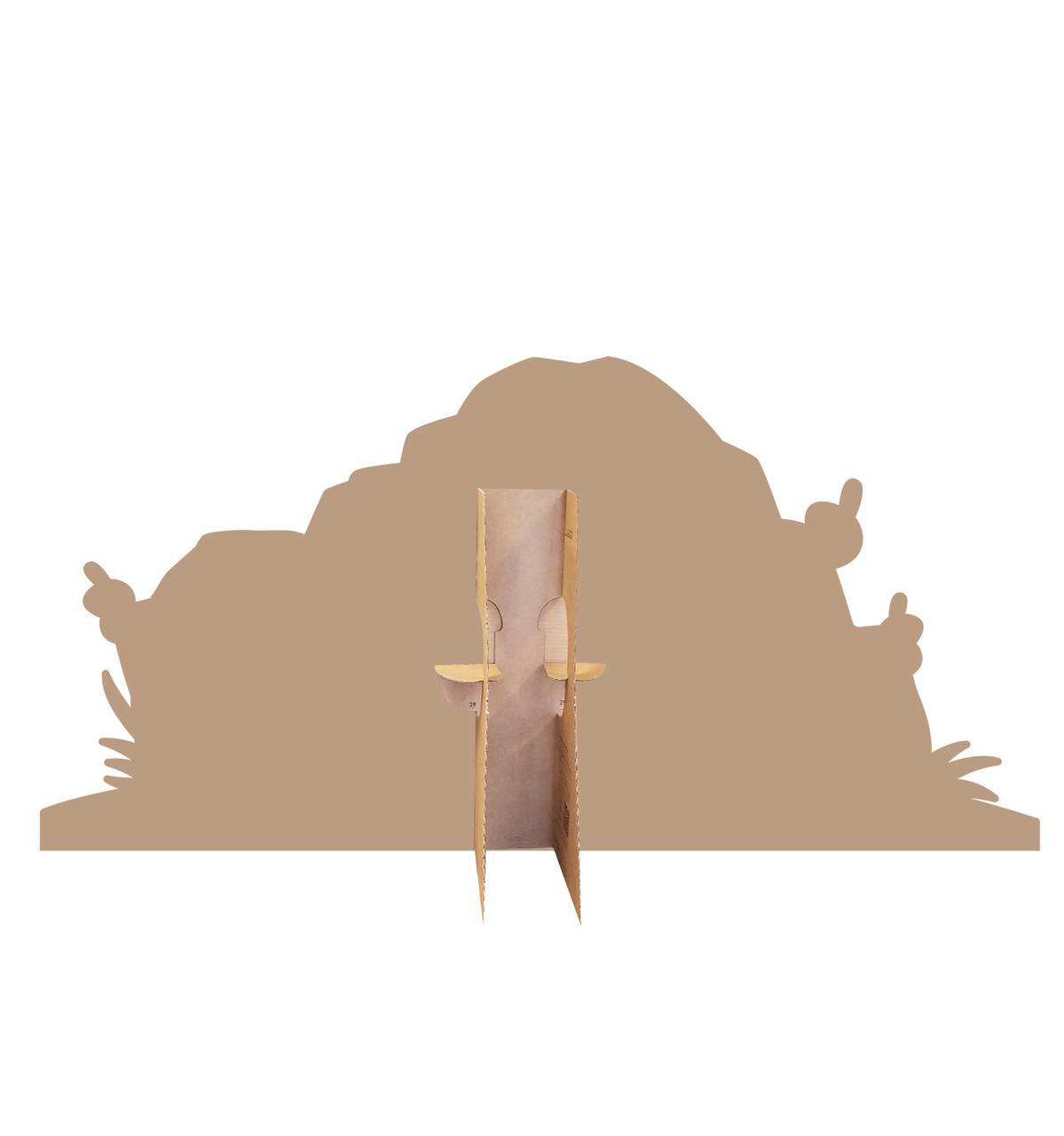 Easter Tomb Cardboard Cutout-back