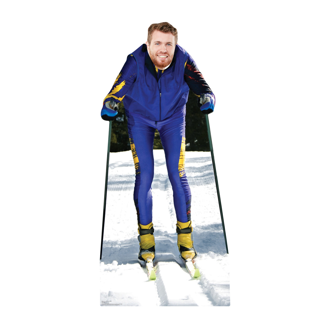 Cross Country Ski Standin Cardboard Cutout