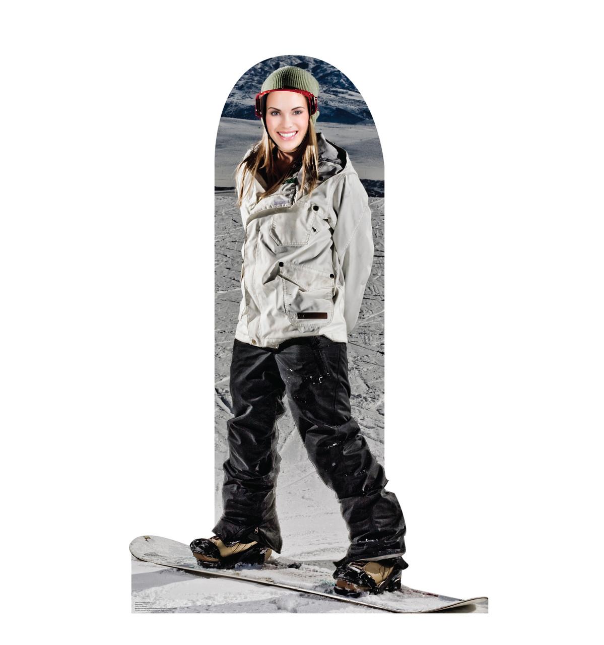 Snowboarding Standin Cardboard Cutout