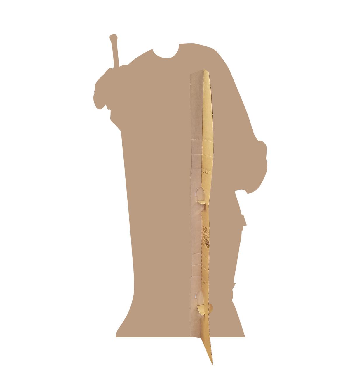 Hockey Player Standin Cardboard Cutout-back