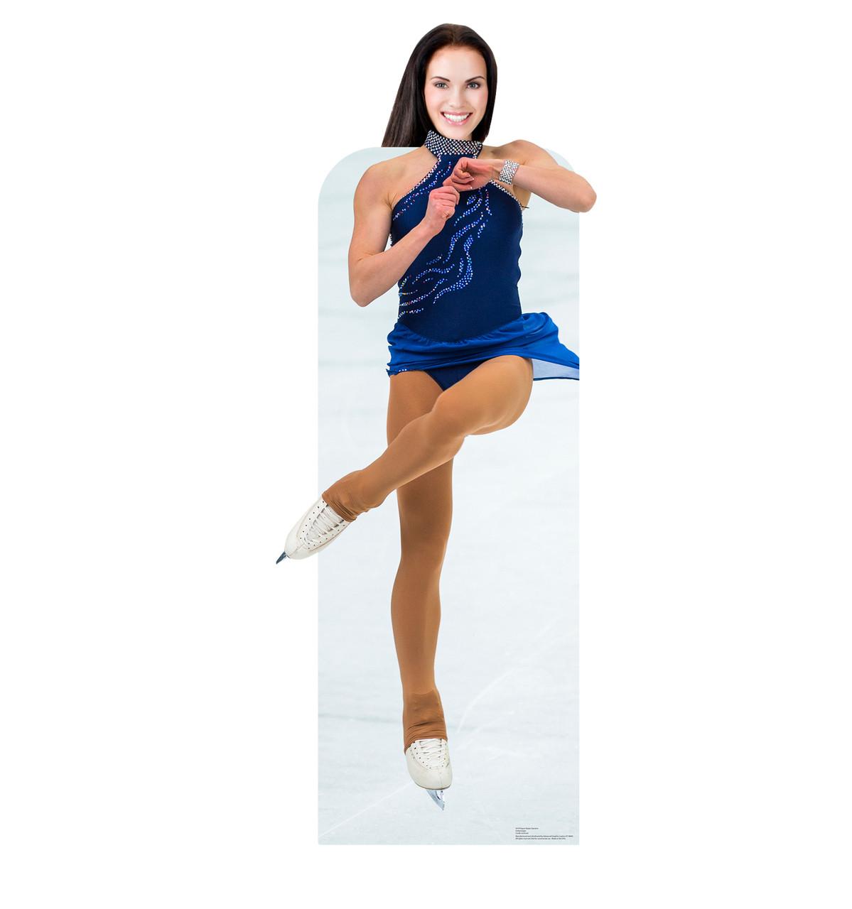 Figure Skater Standin Cardboard Cutout-lifesize