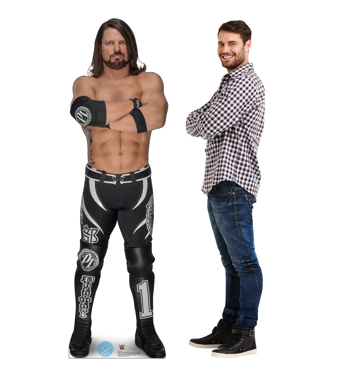 AJ Styles Cardboard Cutout  2719