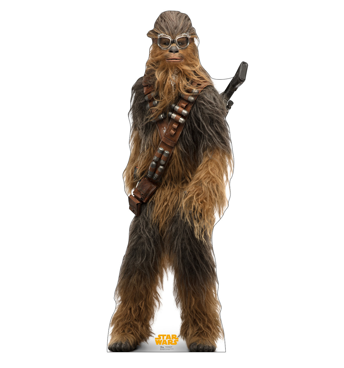 Chewbacca™ Life-size cardboard standee front.